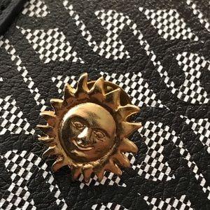 Vintage Gold tone sun pin